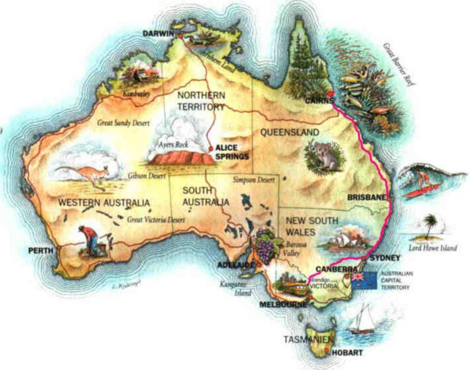 Australia, info utili prima di partire