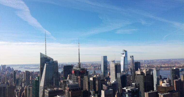 Andare in cima al Rockefeller Centre