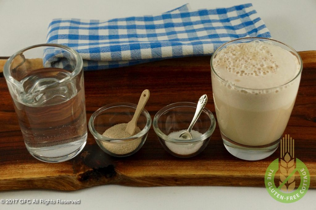 Yeast and sugar reaction (gluten-free eggs Benedict/ gluten-free English muffins).