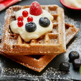 Crispy and Tasty Gluten-Free Waffles