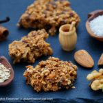 Gluten-free granola cookies.