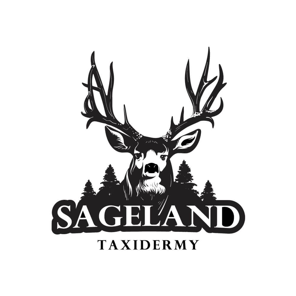 Taxidermy Deer Logo