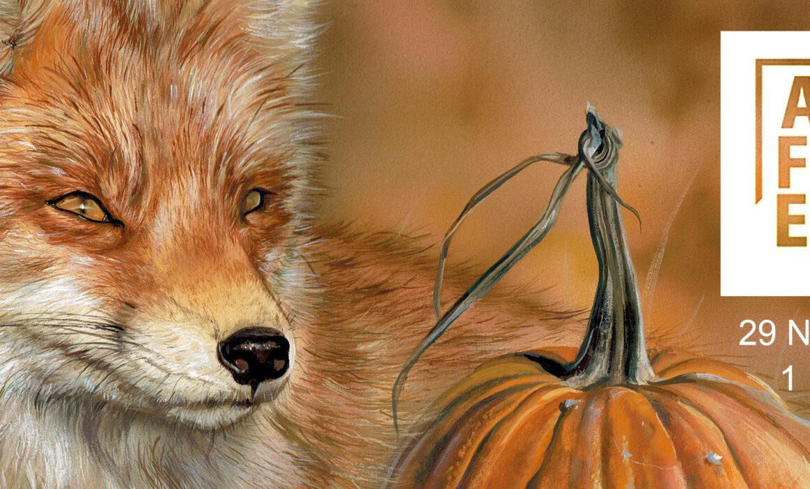 Wildlife Artist Suffolk Norfolk Fox
