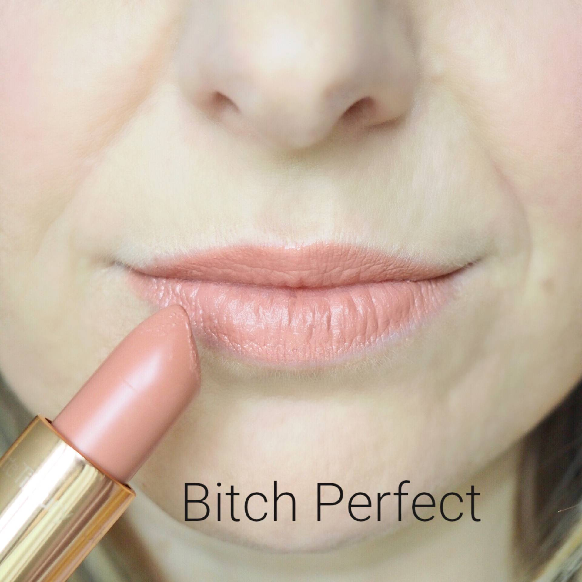 Charlotte Tilbury Bitch Perfect Lipstick Swatches
