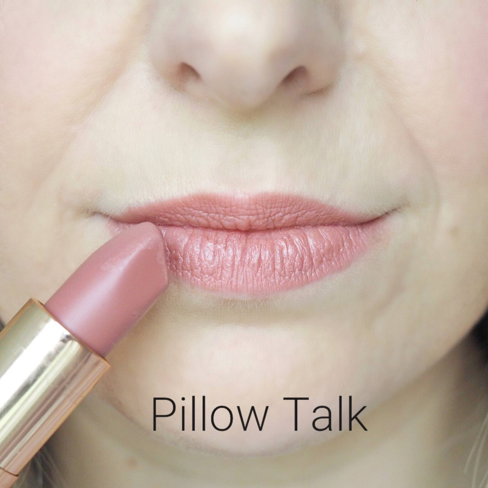 Charlotte Tilbury Pillow Talk Lipstick Swatches