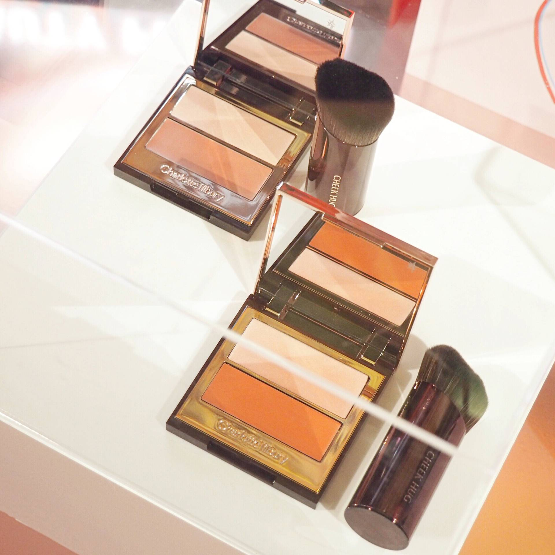 Charlotte Tilbury Pretty Youth Glow Cream Blusher and Highlighter Duo
