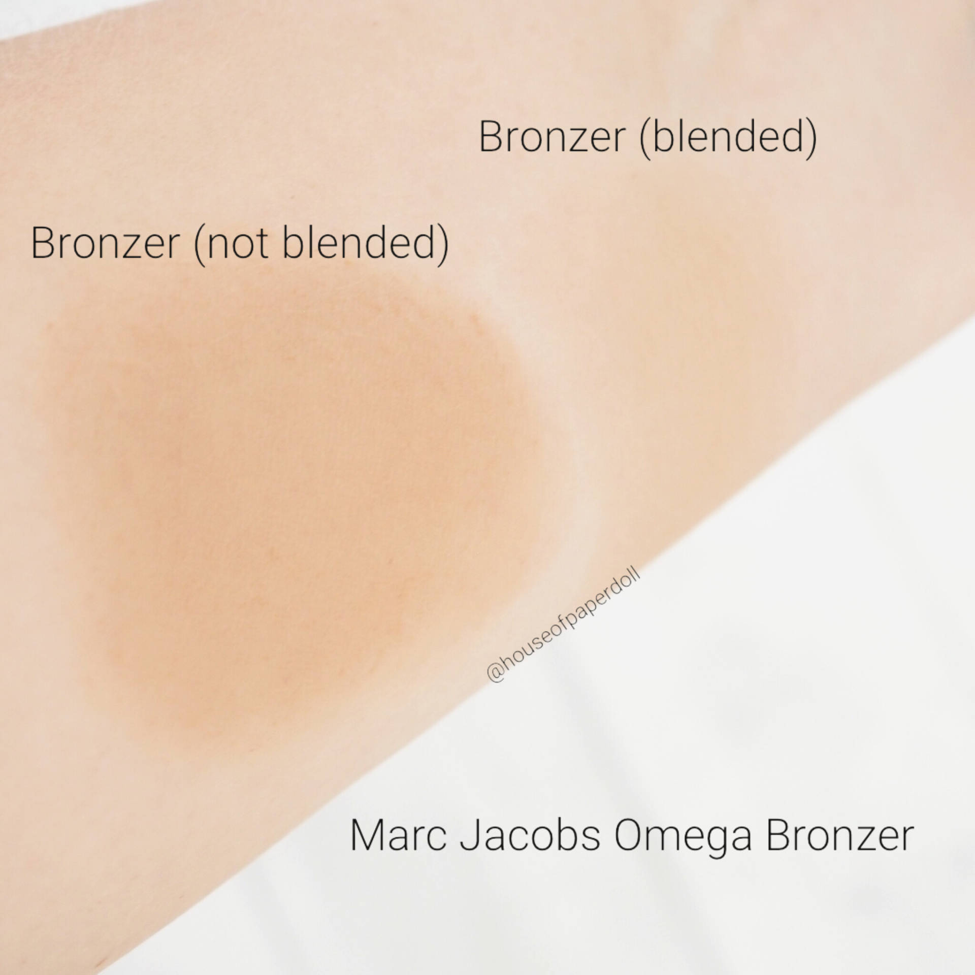 O!Mega Bronzer Coconut Perfect Tan by Marc Jacobs Beauty #9