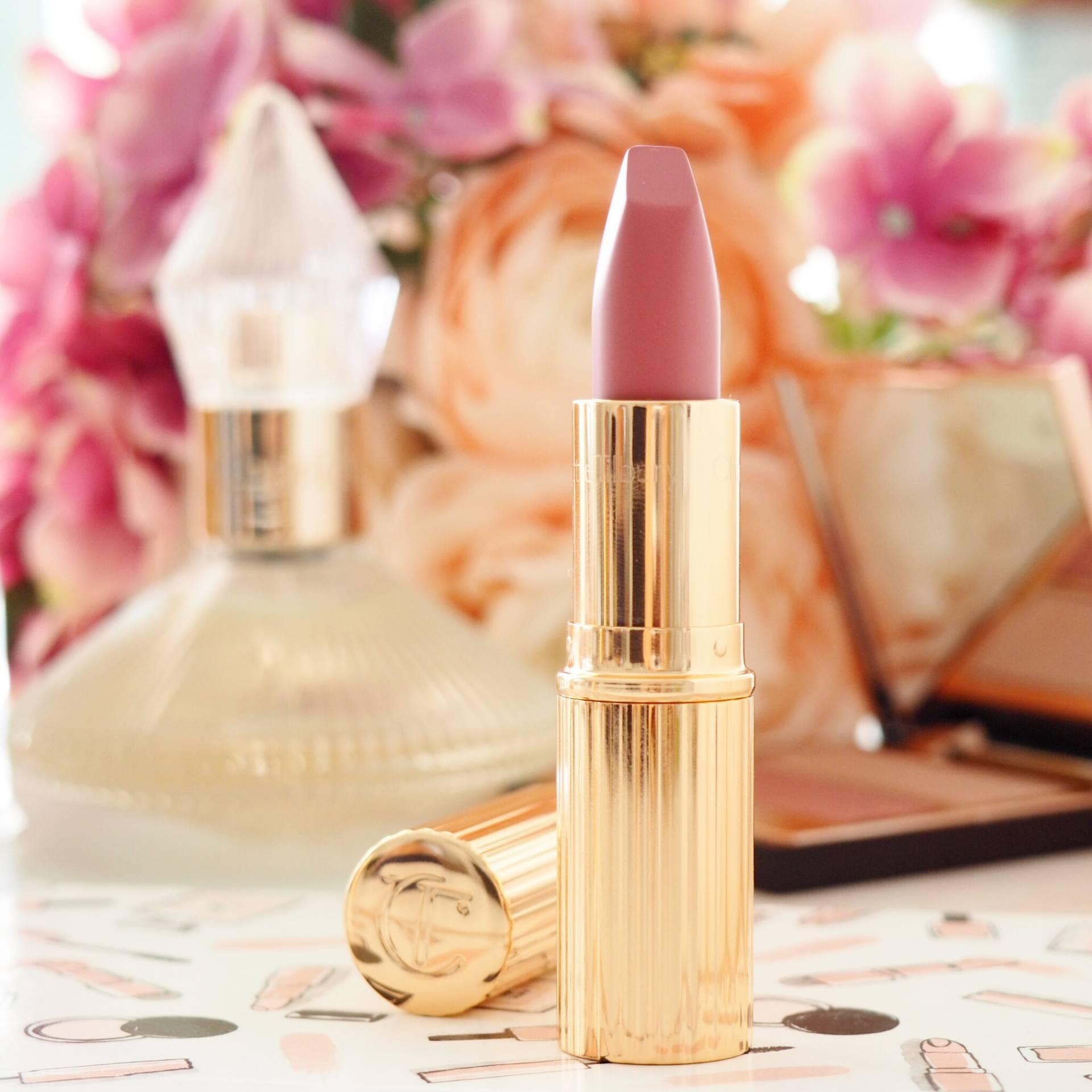 Charlotte Tilbury Between The Sheets Lipstick Review and Swatches