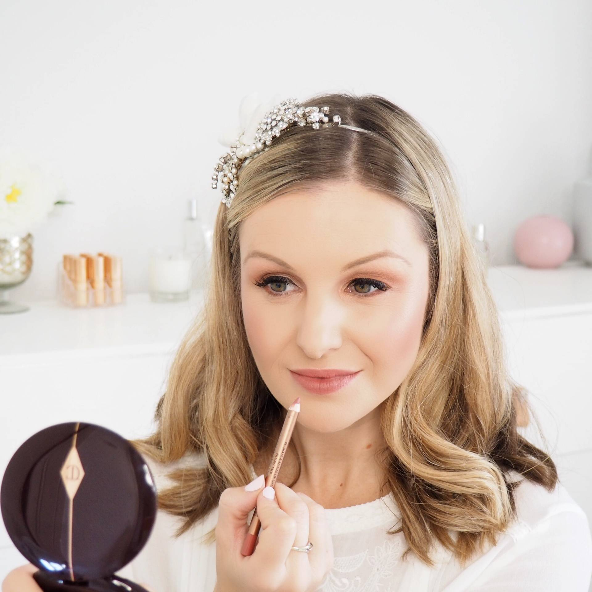 Charlotte-Tilbury-Pillow-Talk-Bridal-Makeup-Look