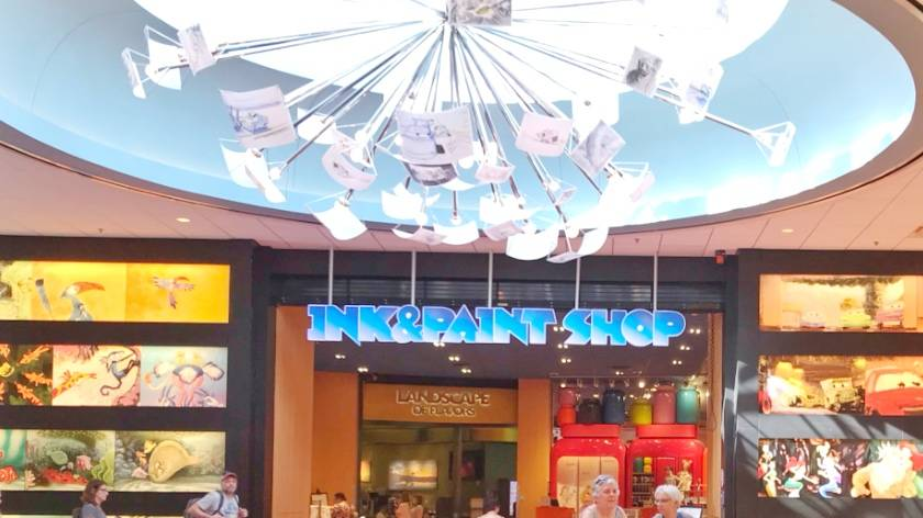 Art of Animation Gift Shop