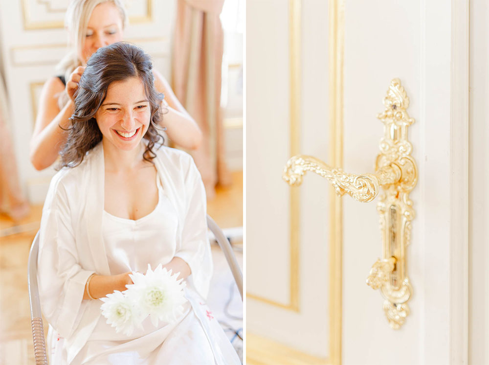 South of France Destination Wedding Photography at Chateau Saint Georges, Grasse