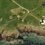 Google Earth image of West Block House