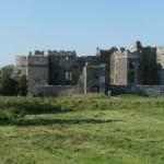 Carew Castle – main entrance on south side