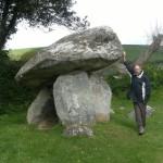 Cerreg Coetan Neolithic burial chamber, Newport