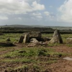 Garn Turne collapsed Neolithic burial chamber