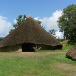 Iron age palace at Castell Henllys