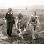 Pony riding at Newgale 1976