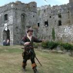 Sir John Perot, castle guide