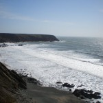 Stormy day at Marloes Sands