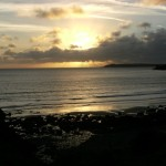 Sunset Marloes Sands