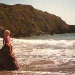 Joanne – the little mermaid – on West Dale beach