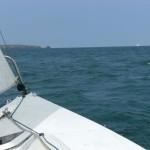 Heading for Skolkholm Island