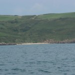 Watwick Sands from the sea