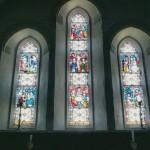 Inside St Brides church