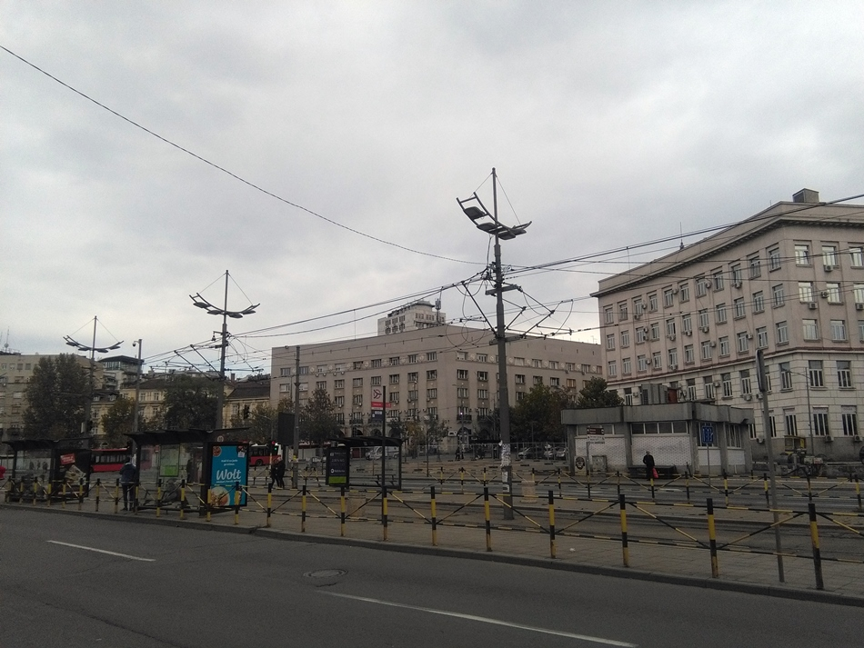 Izmеna rеžima rada linija javnоg prеvоza tоkоm rеkоnstrukcijе Savskоg trga