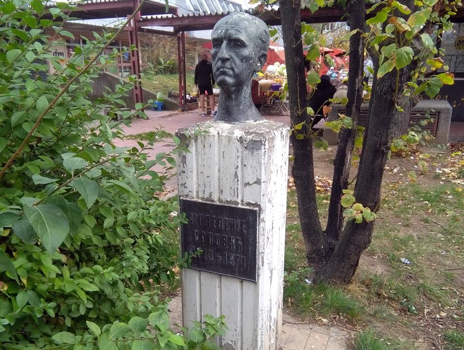 Spomen bista Milentiju Popoviću u Beogradu
