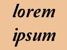 Lorem ipsum, texto e imagen de relleno