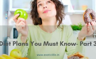 Diet Plans You Must Know- Part 3
