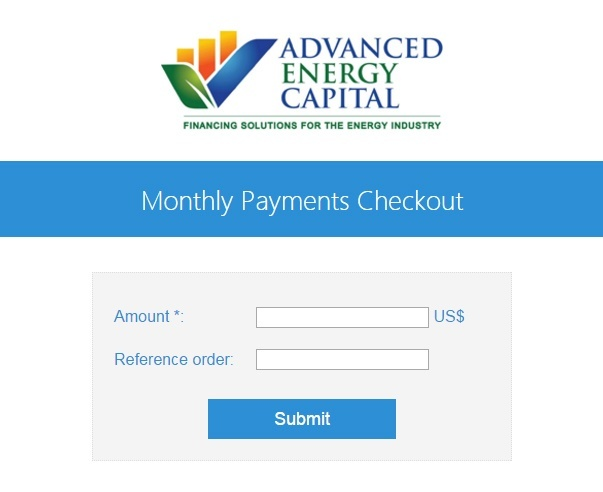 AEC Monthly Payments Checkout