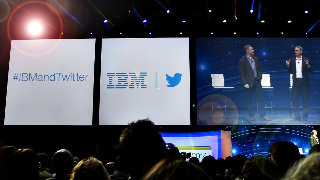 IBM and Twitter