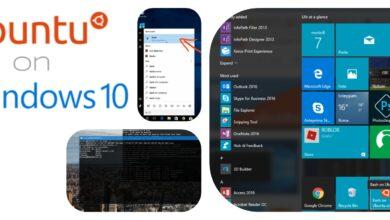 ubuntu bash on windows 10