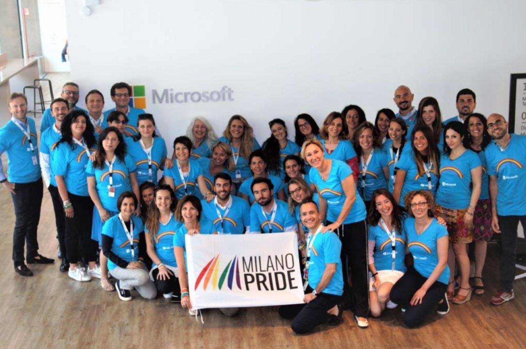 milano pride microsoft