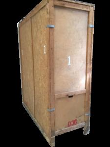 3x7x8 ft self storage unit