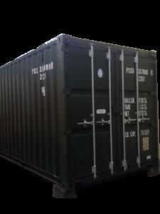 metal container self storage unit