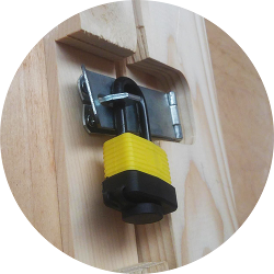 padlock indoor unit