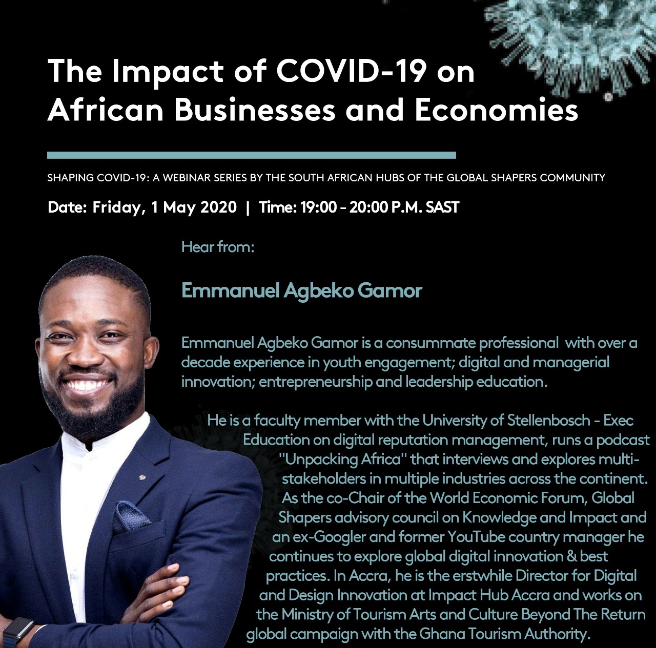 The Impact pf Covid19 on African Businesses - Emmanuel Gamor