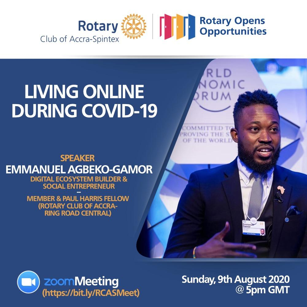 Rotary Living Online during Covid19
