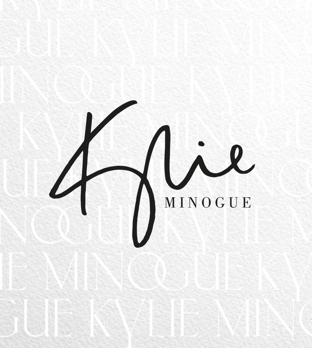 Kylie Minogue logo