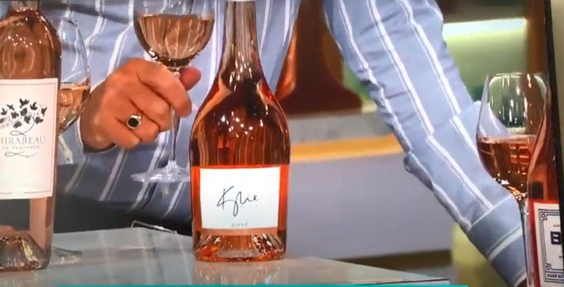 Kylie Minogue Rosé on This Morning Show May 2020