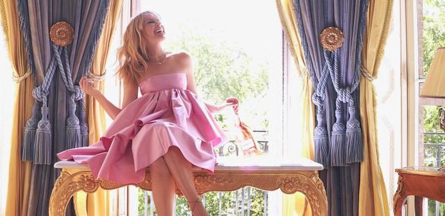 Kylie Minogue Rose banner