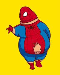 fat super hero