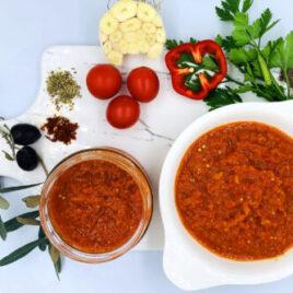 Lütenitsa – kahvaltılık sos