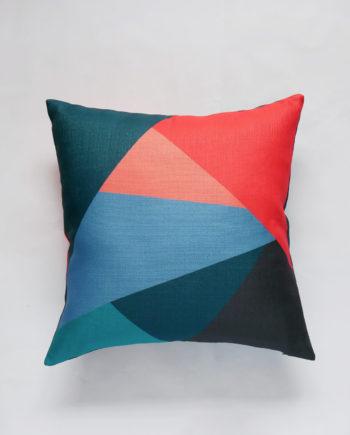 Graphic Colourblock Pillow
