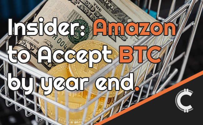 amazon to accept btc by year end