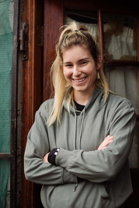 Rachel Kolisi smiling