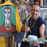 Artist painter cake Argentina
